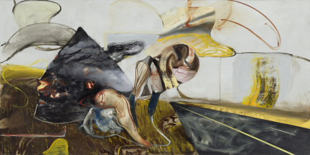 Adrian Ghenie, The Haystack (2020), via Pace