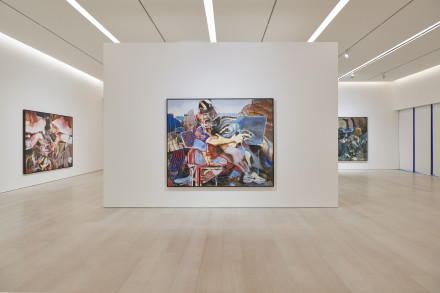 Adrian Ghenie, The Hooligans (Installation View), via Pace