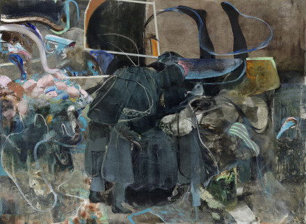 Adrian Ghenie, The Impressionists (2020), via Pace
