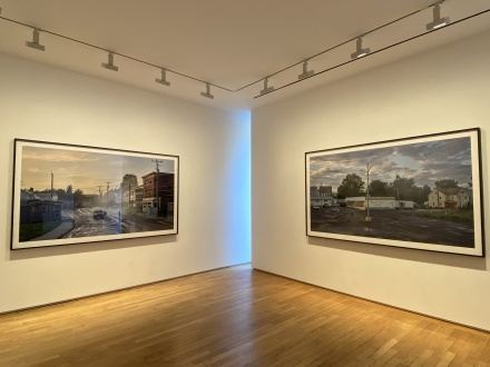 Gregory Crewdson, An Eclipse of Months (Installation View), via Art Observed