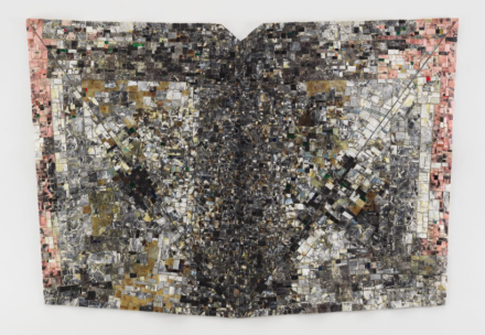 Jack Whitten, Mask II For Ronald Brown (1995), via Hauser & Wirth
