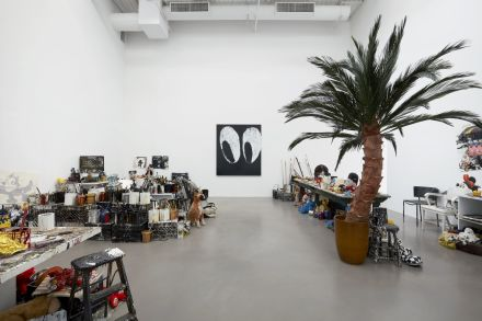 Joyce Pensato, Fuggetabout It (Redux) (Installation View), via Petzel