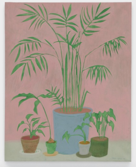 March Avery, Houseplants (1974), via Blum & Poe