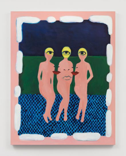 Becky Kolsrud, Inscape (Three Graces) (2021), via JTT
