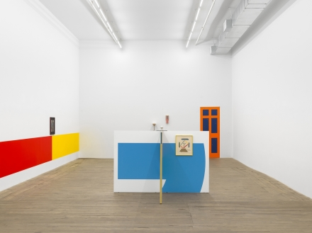 Camille Blatrix, Pop-Up (Installation View), via Andrew Kreps
