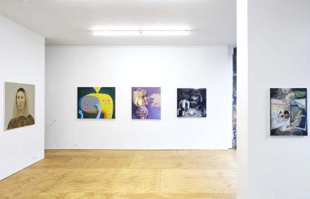 Friend Zone (Installation View), via Half Gallery