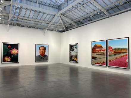 Thomas Ruff, tableaux chinois (Installation View), via Art Observed