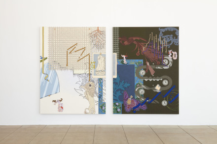 Caitlin Keogh, Waxing Year (Installation View), via Overduin and Co.