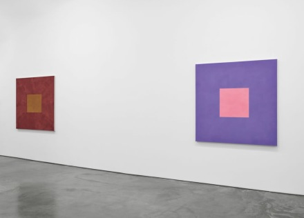 Peter Joseph, The Border Paintings (Installation View), via Lisson Gallery