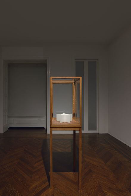 James Lee Byars, The Milky Way (Installation View), via Michael Werner