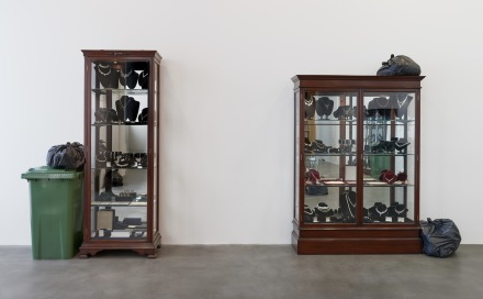 Damien Hirst, Fact Paintings and Fact Sculptures (Installation View), via Gagosian