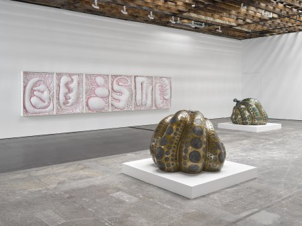 Yayoi Kusama, I Want Your Tears to Flow with the Words I Wrote (Installation View), via Victoria Miro